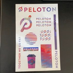 Peloton stickers